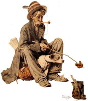 Hobo by Norman Rockwell
